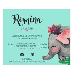 Invitación Baby Shower Manny