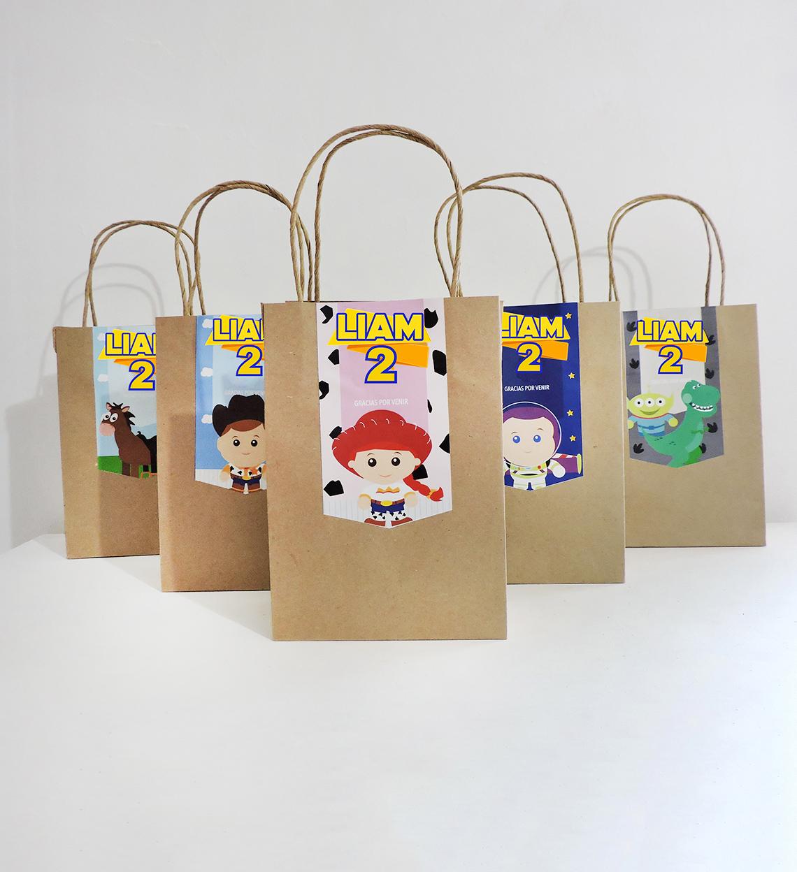 Etiquetas para Bolsita de Dulces Toy Story