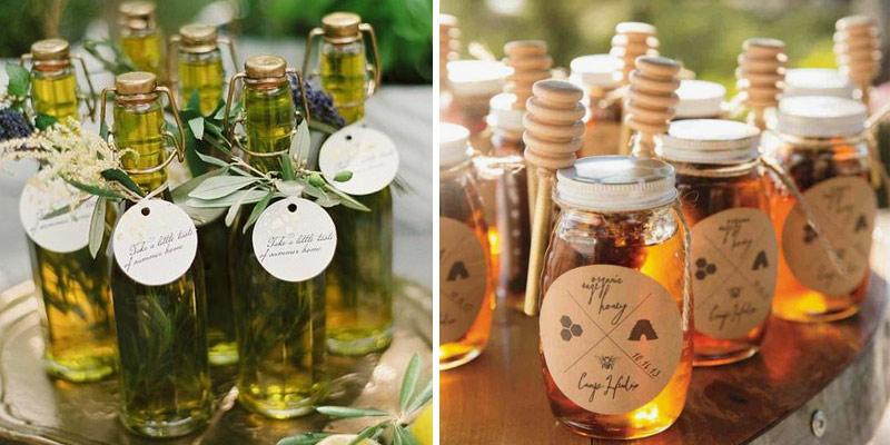 Detallitos aceite de oliva y miel