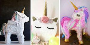 Ideas de Piñatas de Unicornio