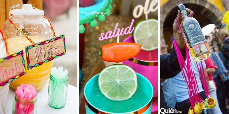 Bebidas Para Bodas Estilo Mexicana
