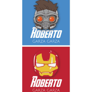 Tarjetas para Regalos Iron Man y Star Lord